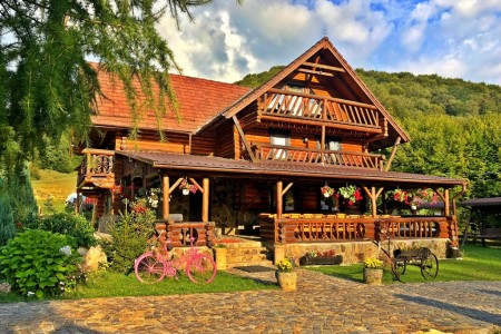 Cabana din Groapa Frumoasa din Rasnov
