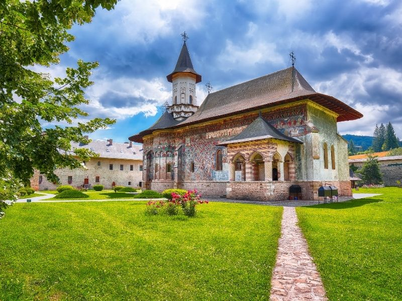obiective turistice Suceava - Manastirea Sucevita
